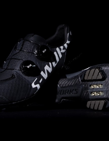 The new S-Works Recon shoes are the flagship off-road shoes in Specialized's footwear lineup