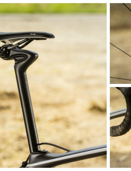 The unusual-looking but effective Cobl Goblr seatpost