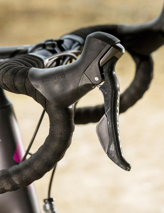 The Ruby Comp runs on the excellent Shimano Ultegra groupset