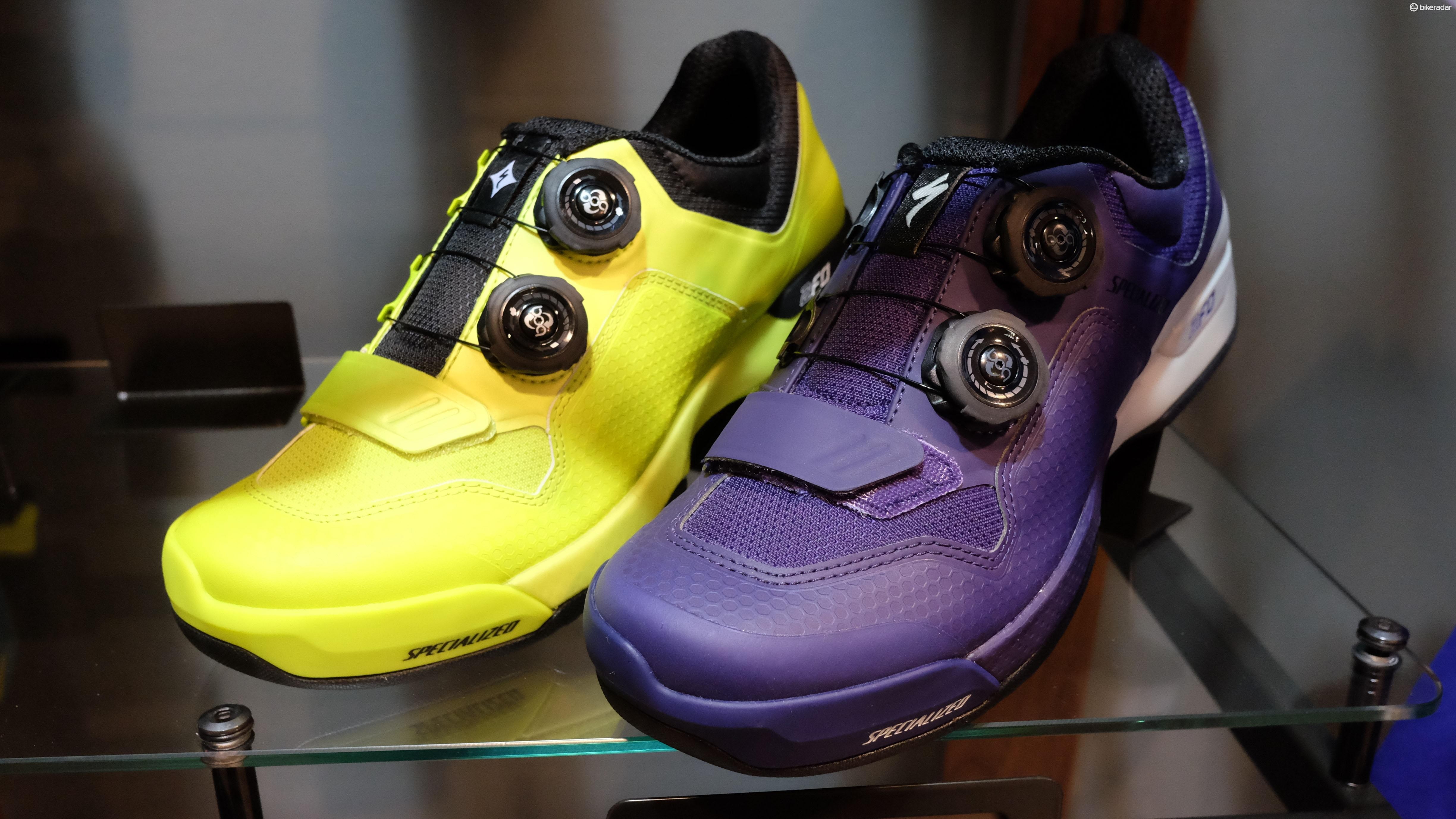 New colours for the 2FO Cliplite MTB shoes