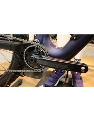 The top of the range model comes with a Race Face Aeffect crankset