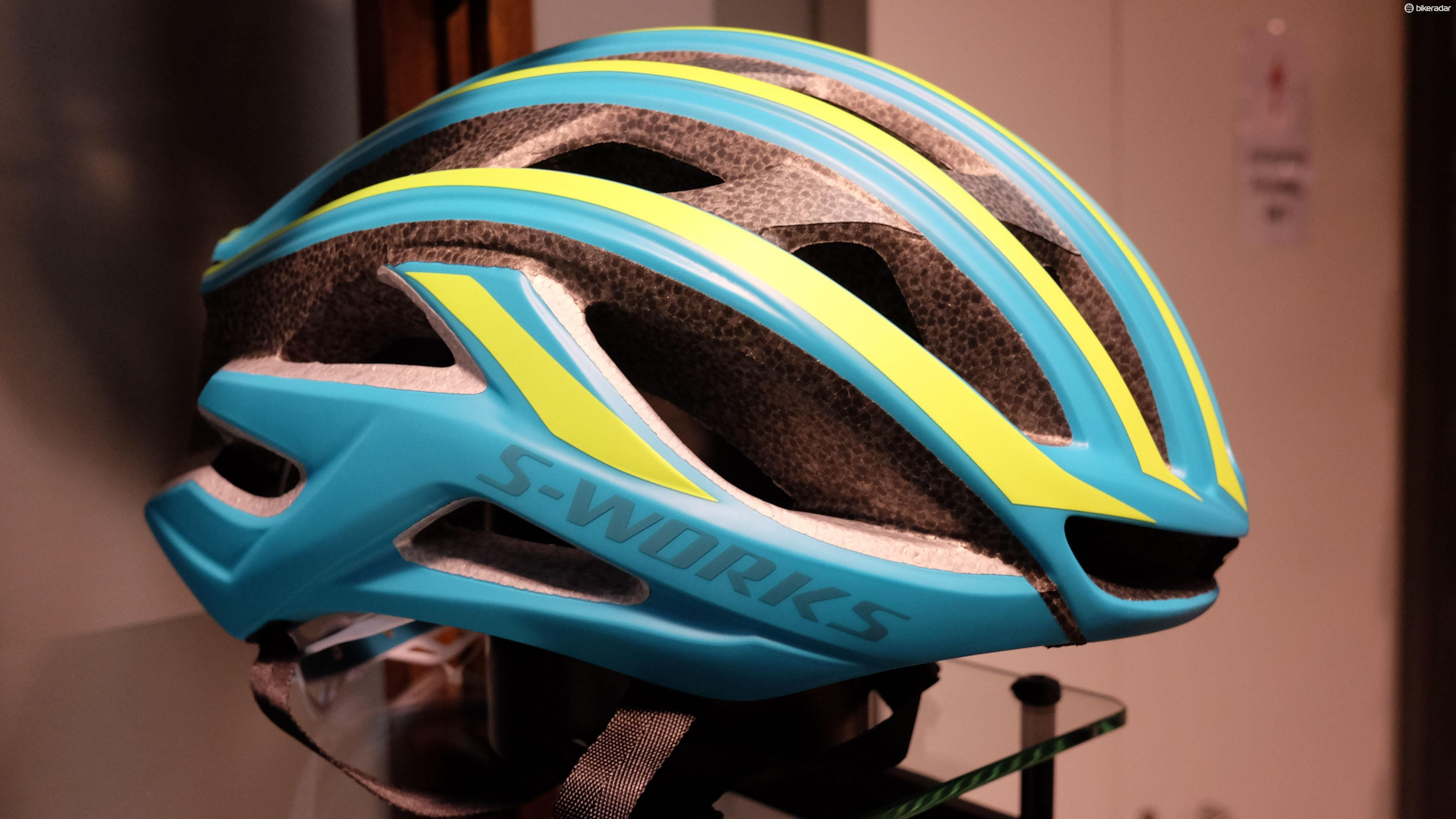 The new Prevail II road helmet has been wind tunnel tested
