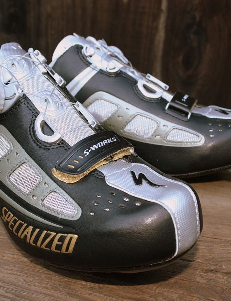 Specialized BG S-Works road shoes.