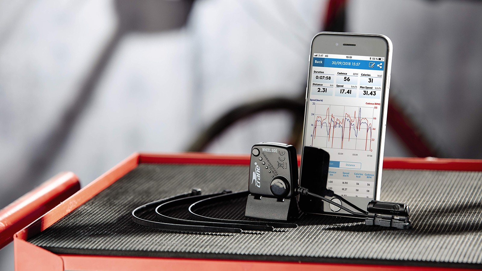 Track your training with this £19.99 Speed and Cadence sensor