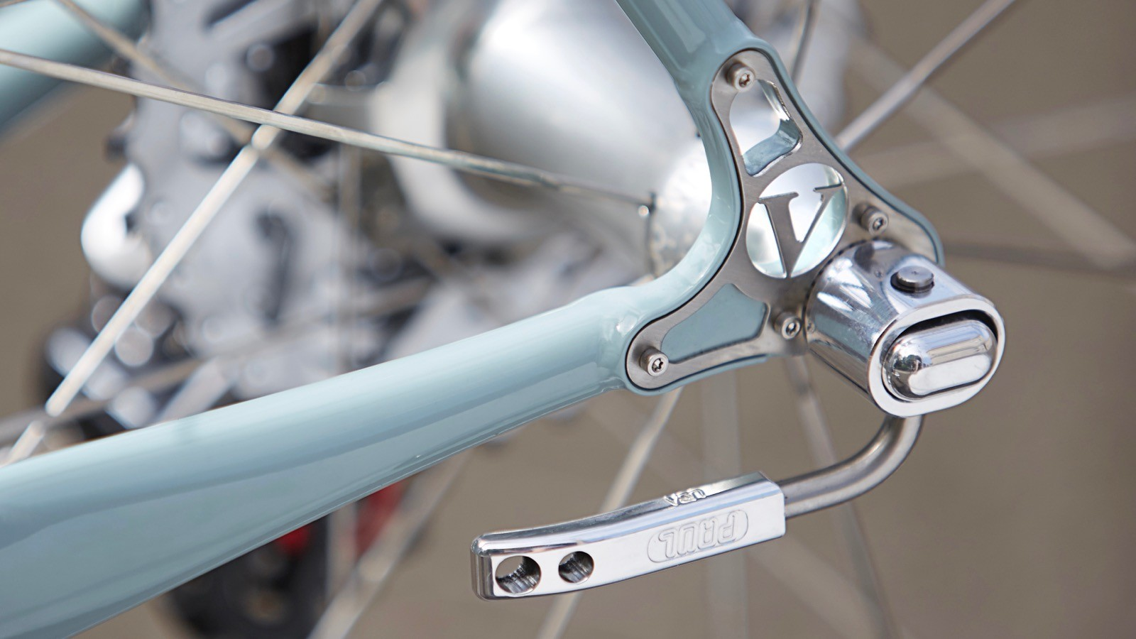 Vanilla Bicycles produces these ornate stainless steel reinforced dropouts