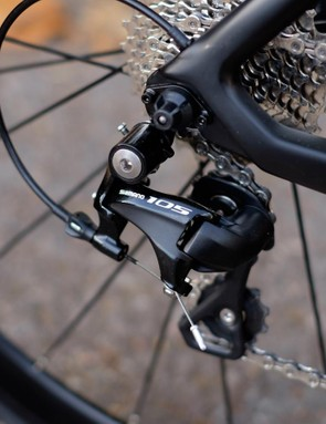 The full 105 groupset at this price adds value for money