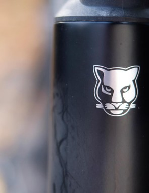 The Leopard logo adorns the head tube