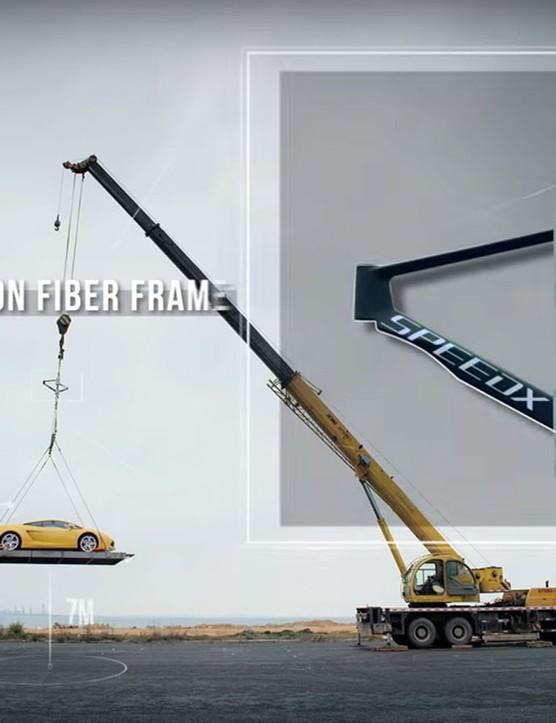 Look it can hold a Lamborghini!