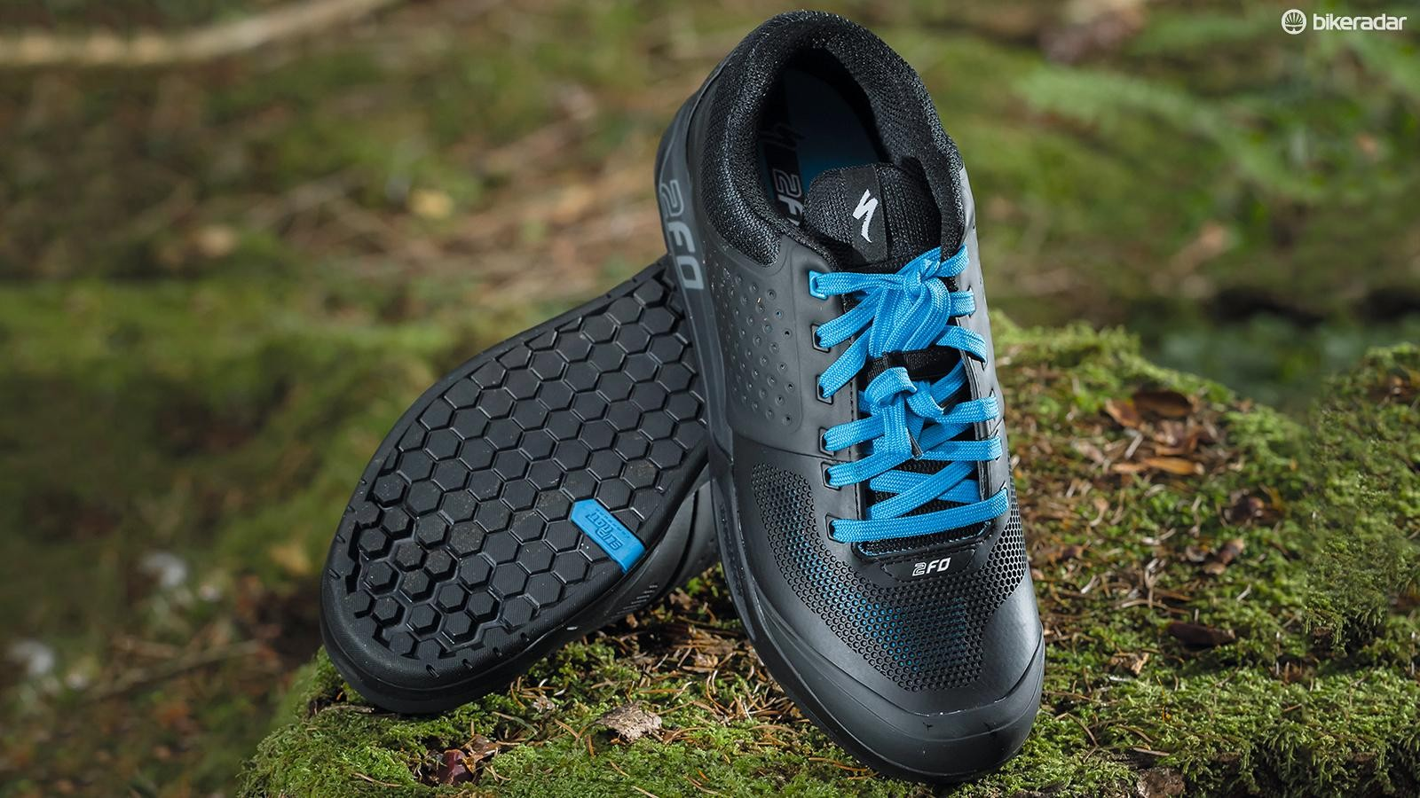 Specialized's 2FO shoes have a very rigid feel and are perhaps a little too well ventilated