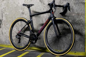 The Women's S-Works Tarmac is the pinnacle of the women's options in the updated Tarmac line