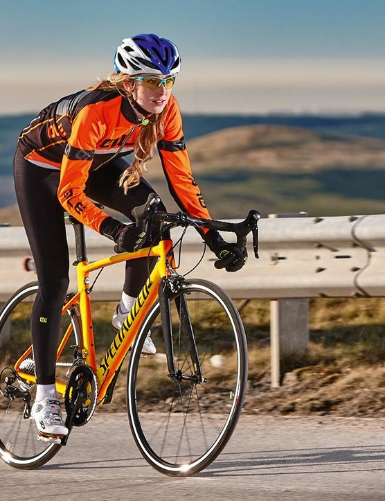 You don't buy the Allez DSW as your sole road bike, you buy it to race mercilessly