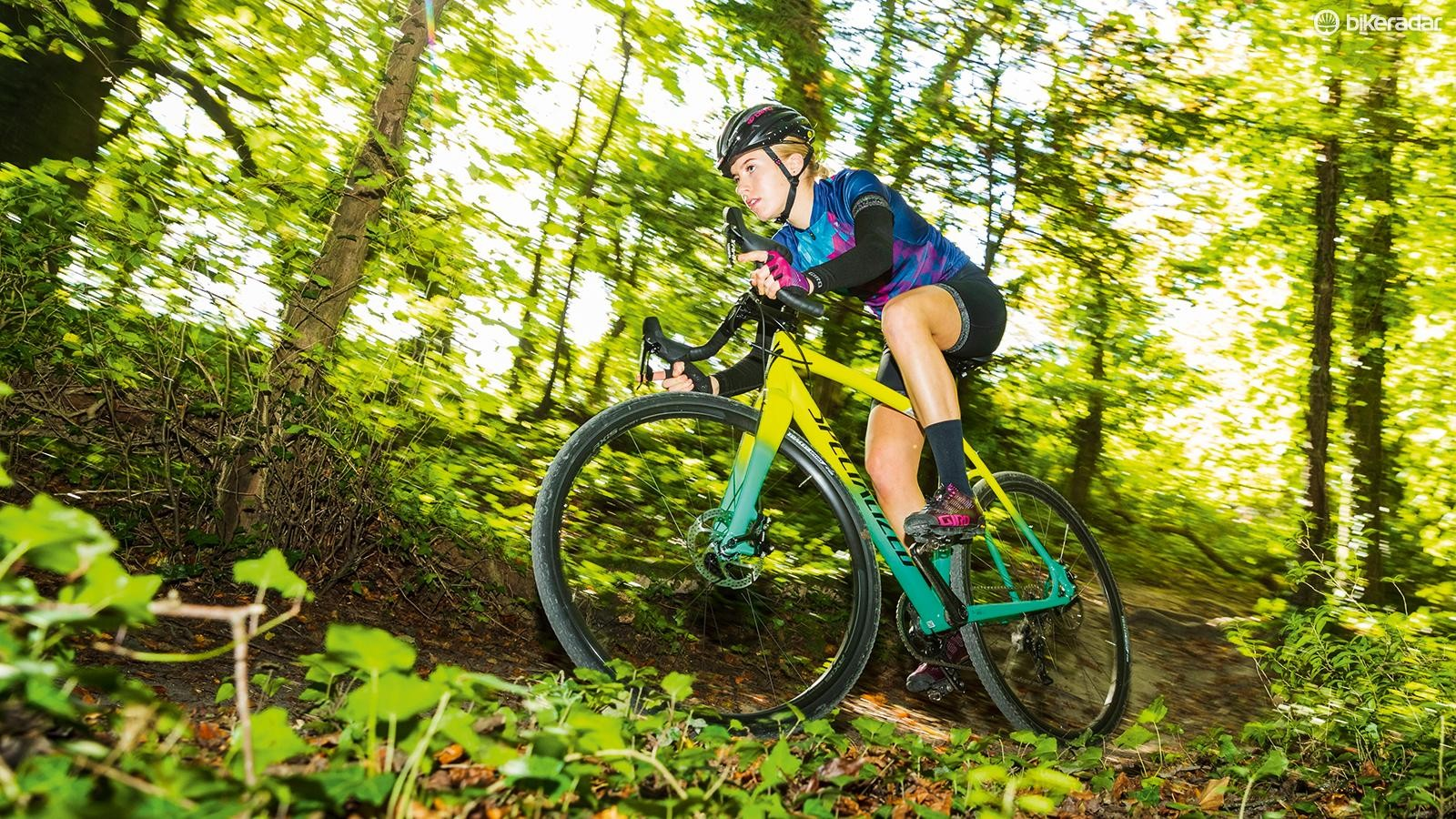 The CruX E5 Sport has fine cyclocross manners, but is a little short of speed
