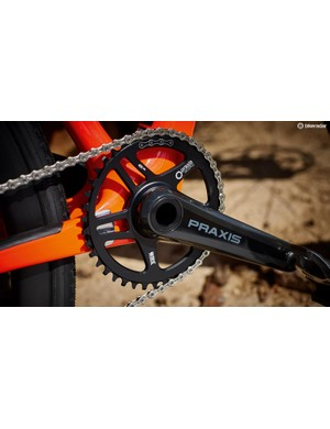 Praxis' Zayante crankset is an impressive addition at this price point