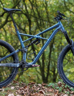 The new Enduro is an okay climber and tames rough descents with ease