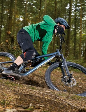 The Enduro gets into its stride when descending