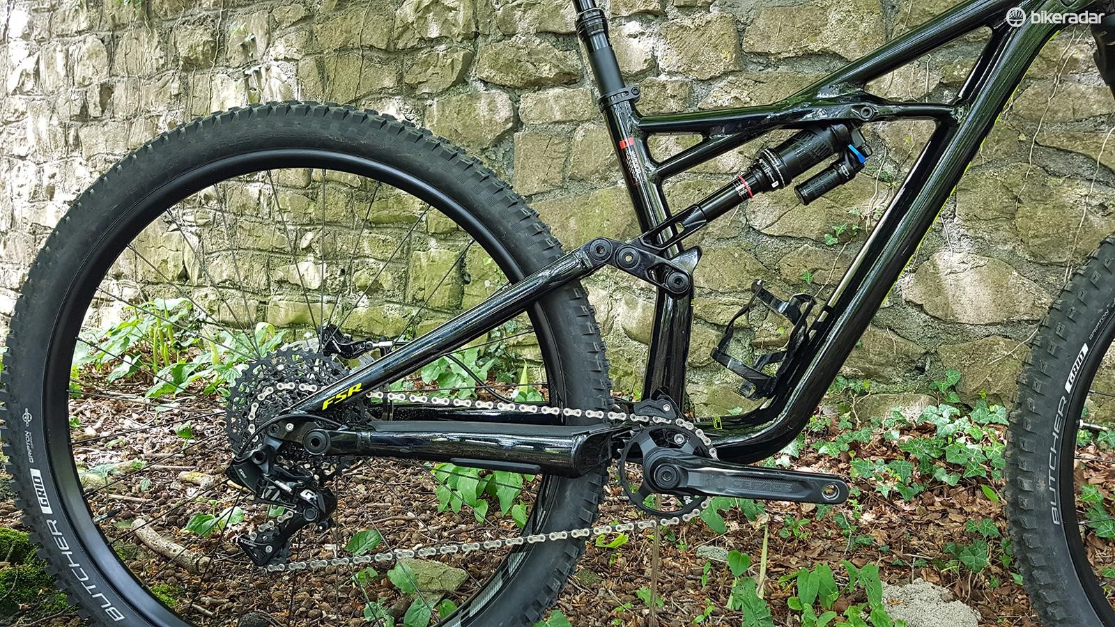 Specialized's classic FSR suspension has stood the test of time