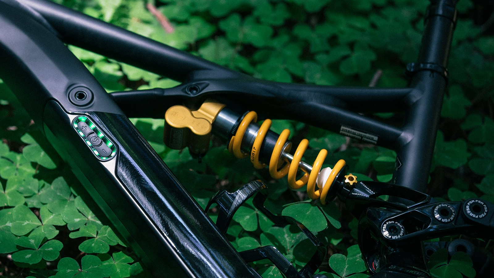 Öhlins's TTX coil damper is one of the finest in the business and delivers a smooth, incredibly controlled stroke