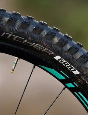 Butcher and Slaughter plus-sized tyres come on Roval Traverse wheels