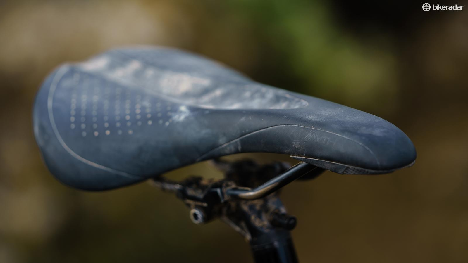 Saddles are personal, but I found the Specialized Myth saddle very comfy