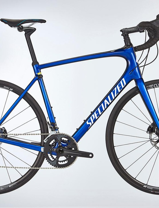 Specialized's Roubaix Comp includes the Future Shock front suspension system