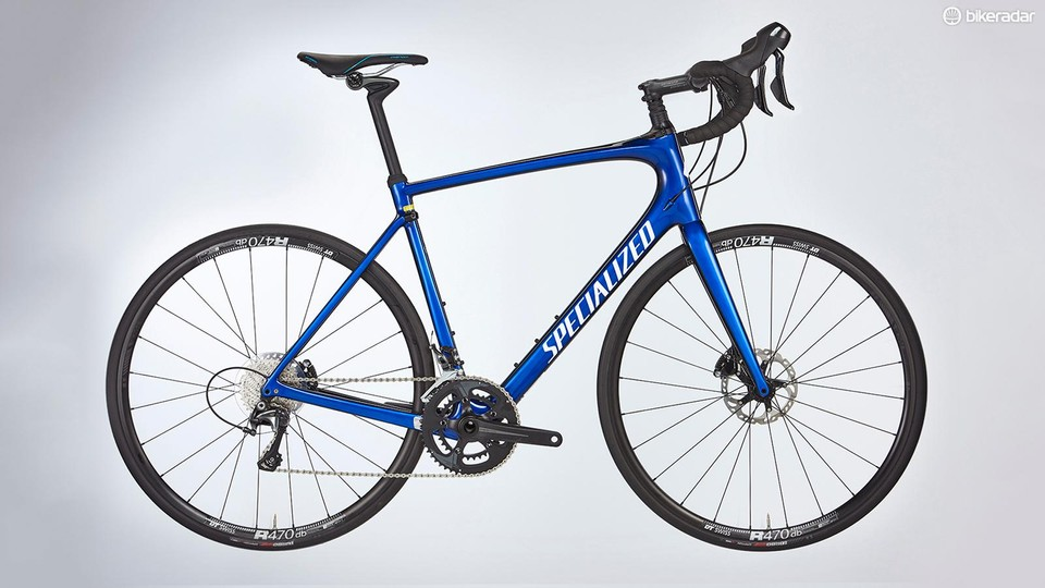 e462c76cd3b Specialized's Roubaix Comp includes the Future Shock front suspension system