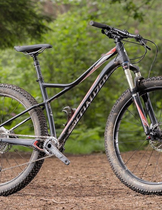 The Specialized Ruze is a 27.5+ hardtail, and boy is it fun to ride