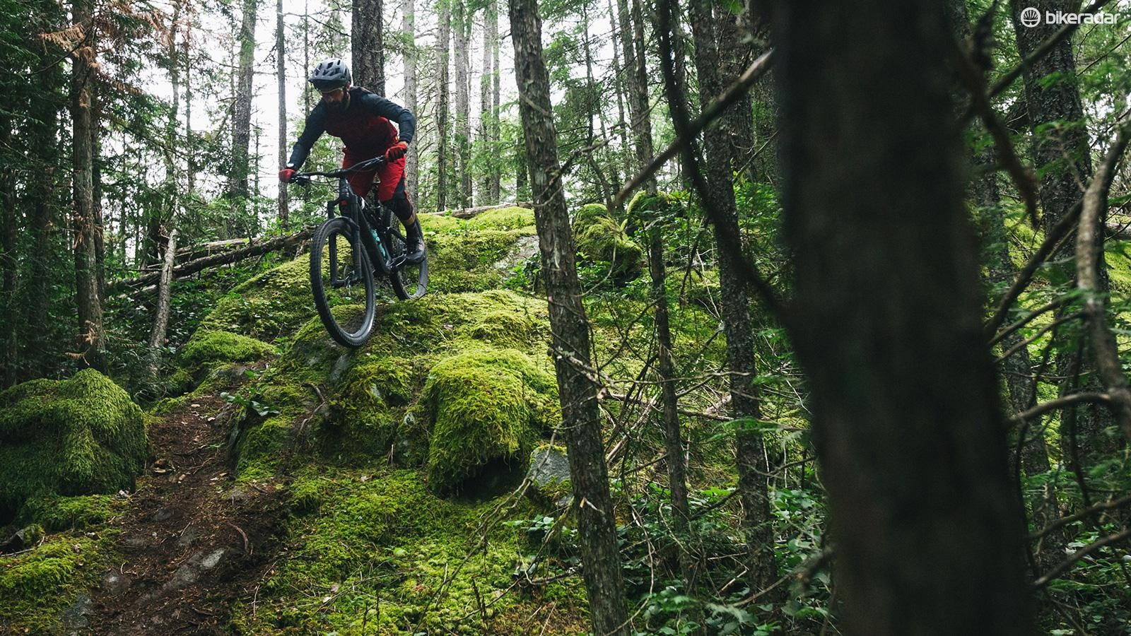 The more natural trails on offer were a great test of the new bike where it really seemed to shine on the climbs, thanks in part to the revised geometry