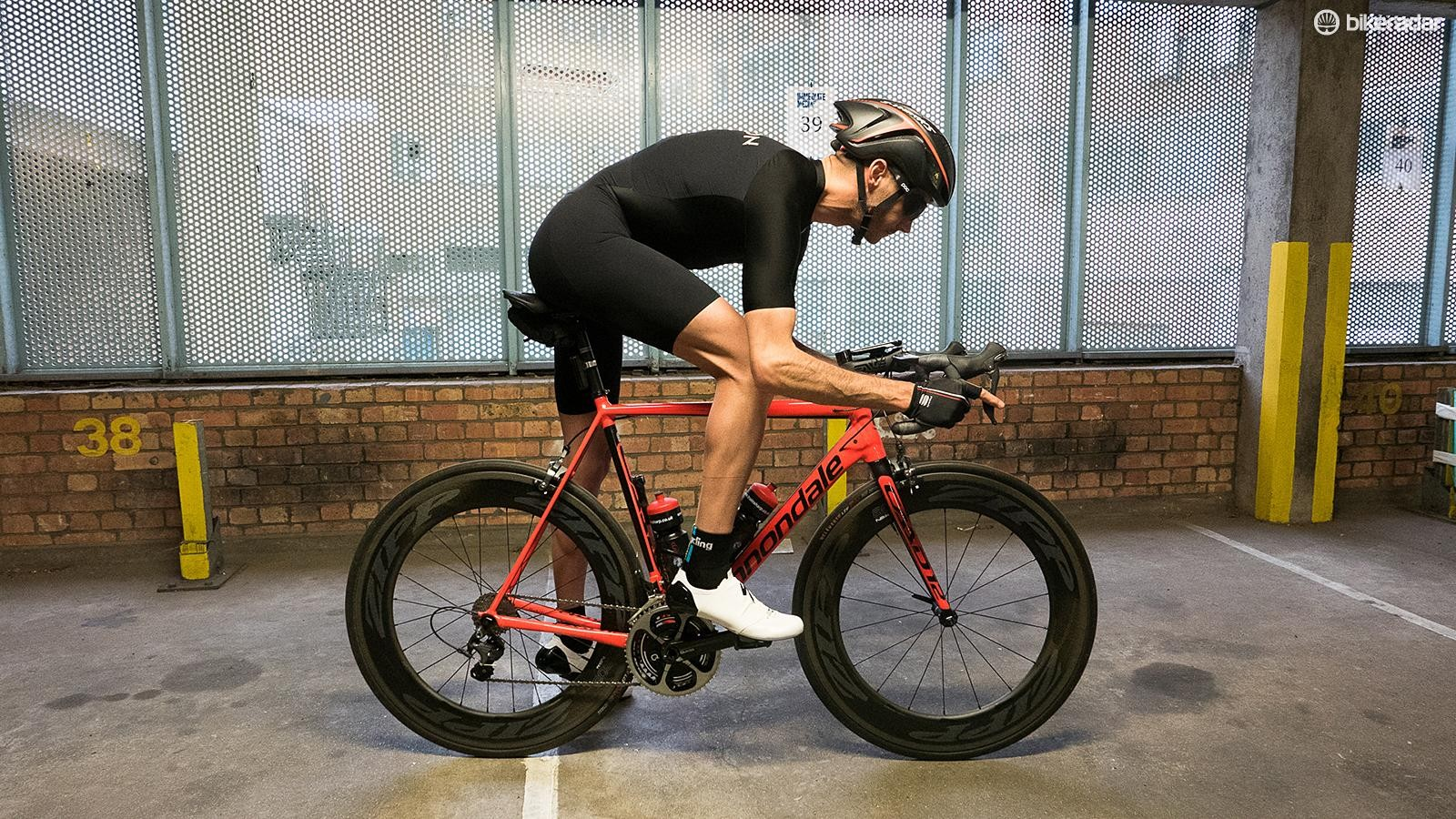 Specialized's S-Works Evade GC skinsuit is claimed to be capable of saving up to 96sec over 40km