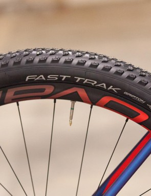 Fast Track tyres aren't the best for muddy conditions