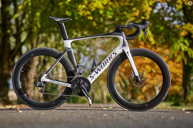 Specialized's S-Works Venge ViAS eTap Disc