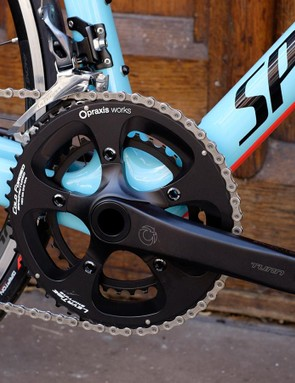 Praxis' Turn Zayante cranks have been praised in the past by BikeRadar's testers