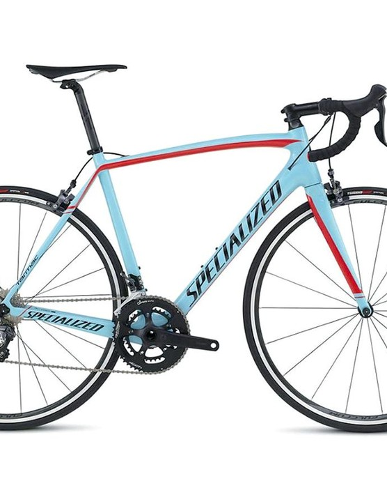 The Tarmac is one of the world's most familiar road bikes