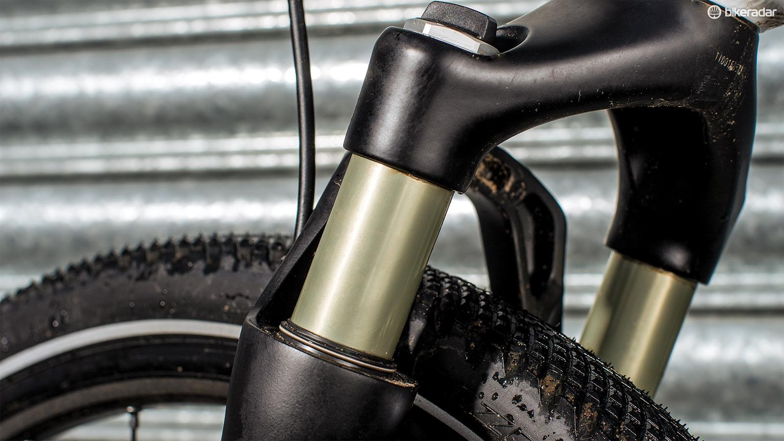 Big tyres and a suspension fork take the sting out of the rougher roads on your route