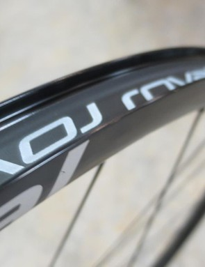 The SLX24 rim profile is fashionably wide with a 23.5mm external and more importantly 20mm internal