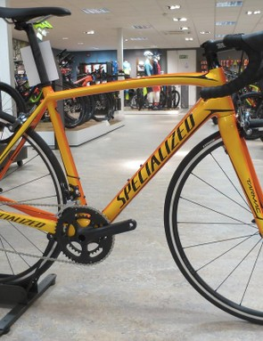 The £1,500 Tarmac SL4 Sport gets a bright and bold Sunburst fade colourway