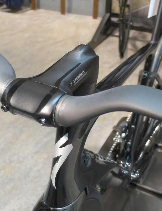 The Aerofly bar is available with two different rises, or flat, and the choice depends on the results of a Retul fitting when you order a ViAS