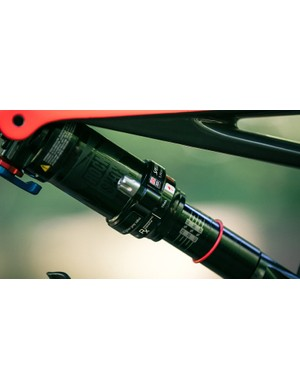 All but the top end S-Works model gets a RockShox rear shock (the S-Works bike is fitted with Öhlins dampers front and rear) with Autosag technology for easier set up