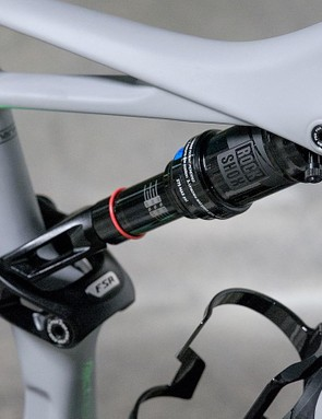 The RockShox Monarch RT damper includes the company's lighter RX Trail Tune developed specifically for women riders