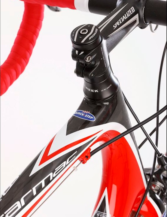 The Pro-Set stem gives a range of angles
