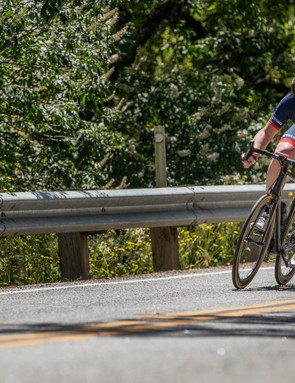 The Tarmac is one of the most impressive descending bikes we've tried