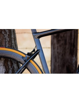 The slender tubes, Kamm tail shaping and clean lines make the new Tarmac very different to previous models