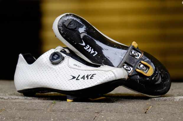 Lake's uber lightweight road shoes