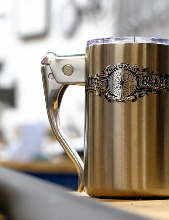 The coffee brake mug may have come about by accident, but people will be buying these on purpose