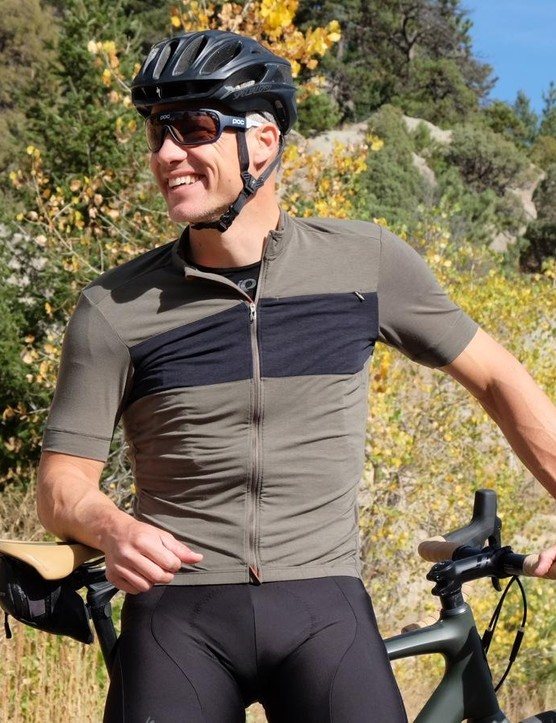 The Specialized RBX DriRelease Merino Jersey is a poly-merino blend that feels soft like an old T-shirt