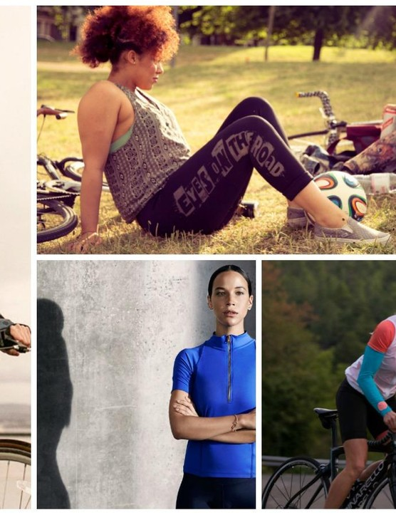 Five top new women's brands, from left: As Bold As, House of Astbury, Threo, Queen of the Mountains, Victor + Leap