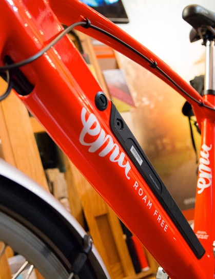 The Emu electric bike at Spin 2015