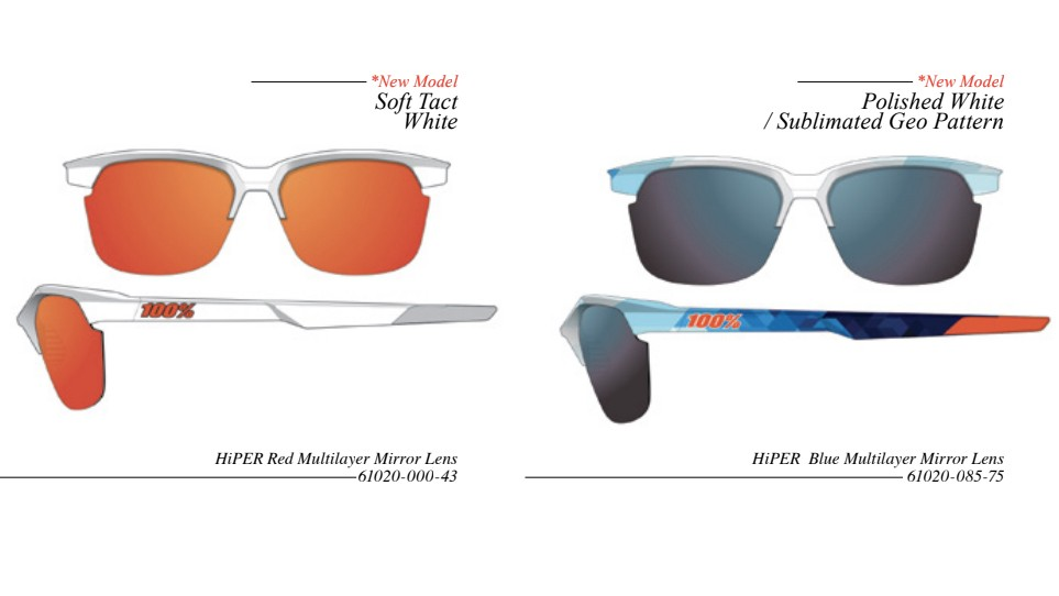 The Sportcoupe glasses are a rather more pared-down option for riding