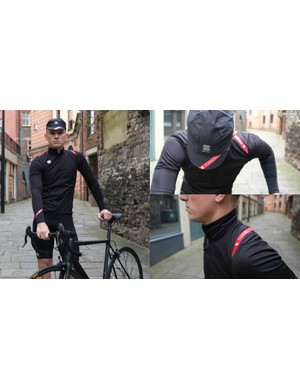 Sportful's Fiandre clothing arrived just in time