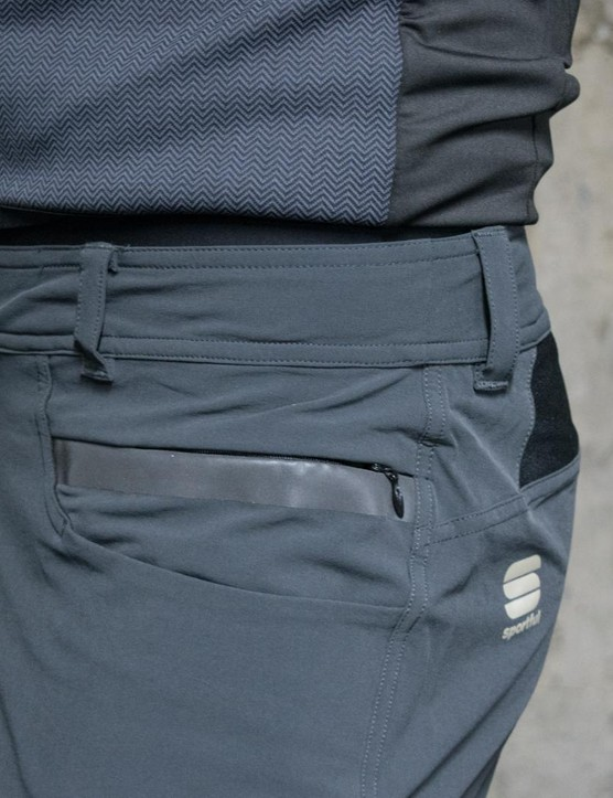 The Giara over shorts have had a DWR fabric treatment to help repel water and dust