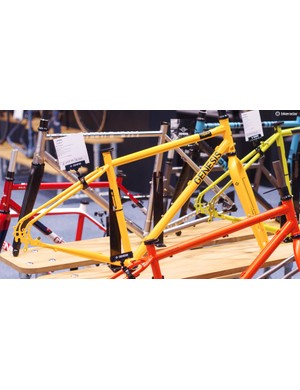 Bright colours are definitely still cool. The adventurous steel Vagabond frameset costs a mere £449.99